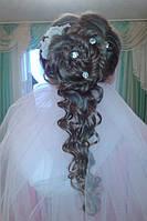 Прическа свадебная