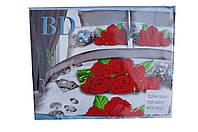 Комплект постельного белья Цветы Розы 2 Двухспальный