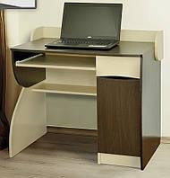 Компьютерный стол Летро Ронни тёмный венге,светлый венге
