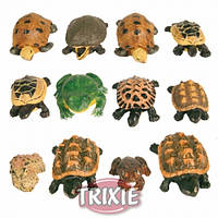 Декорация Trixie Набор черепашек и лягушек, (12 шт).