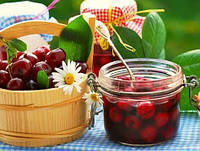 Наполнитель для йогуртов с кусочками вишни
