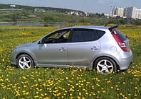 Ветровики на Hyundai I30 II Hb 5d 2012