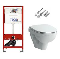 Инсталляция TECE с подвесным унитазом Laufen Pro Nordics + крышка Softclose
