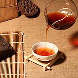 Цеглинка чай пуер, провінції Юньнань, 200g, 1970года., фото 5