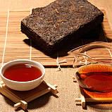 Цеглинка чай пуер, провінції Юньнань, 200g, 1970года., фото 6