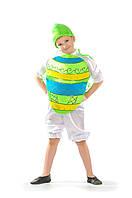 """Детский костюм """"Крашенка зеленая"""""""