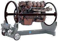 Стапель для ремонта двигателя ротационный RAV R15 c электроприводом грузоподъёмностью 2т