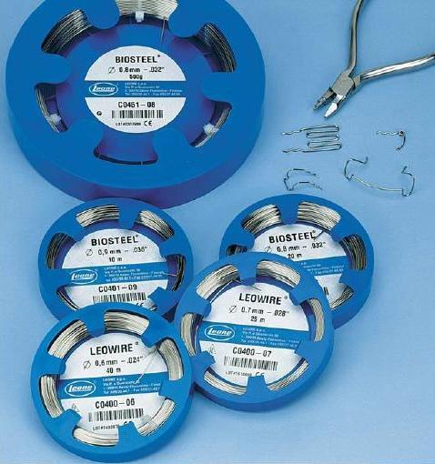 Проволока в отрезках для ортодонтических аппаратов