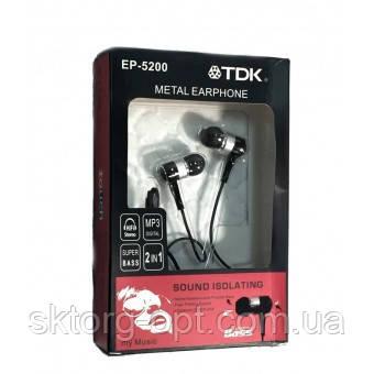 Наушники Bass TDK EP-5200 Metal