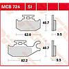Комплект тормозных колодок TRW / Lucas MCB724SI