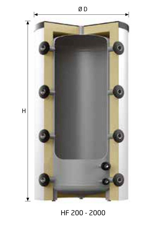 Буферная емкость Reflex HF500