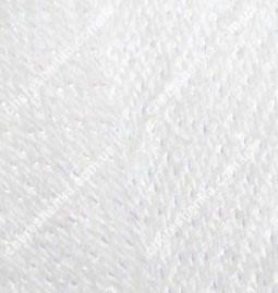 Нитки Alize Sal Sim 55 белый, фото 2