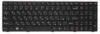Клавиатура для ноутбука LENOVO IdeaPad G570AH rus, black, ORIGINAL