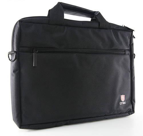 """Стильная прочная сумка для ноутбука до 17"""" DTBG D8123BL-17 черный"""