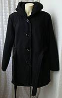 Пальто женское демисезонное элегантное большой размер бренд Croft&Barrow р.56-60 5507