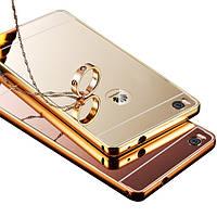 Зеркальный чехол для Huawei Ascend P8 Silver For P8 Lite