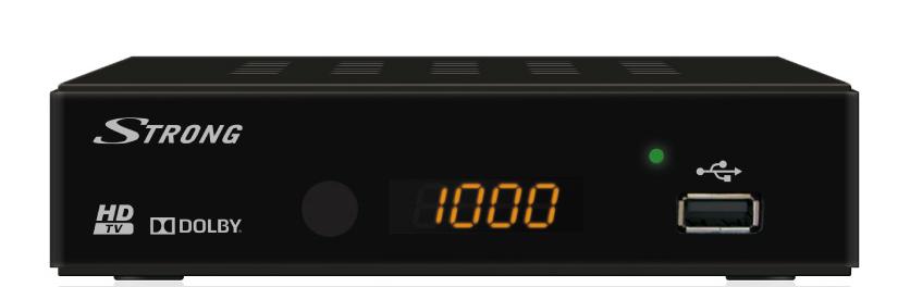 Цифровой эфирный приемник Strong SRT 8202 Dolby Digital AC3 DVB-T2