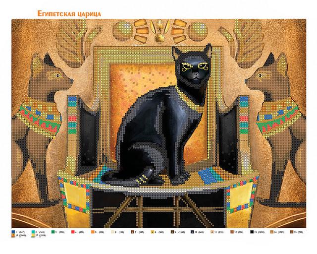 кошка, бисер, египет