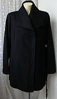 Пальто женское демисезонное элегантное шерсть большой размер бренд Apt.9 р.54 5509, фото 1
