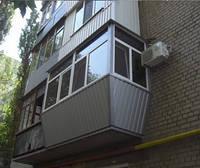 Остекление балкона в сталинке 3 м