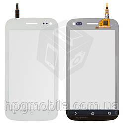 Сенсорный экран для Fly IQ450, белый, оригинал