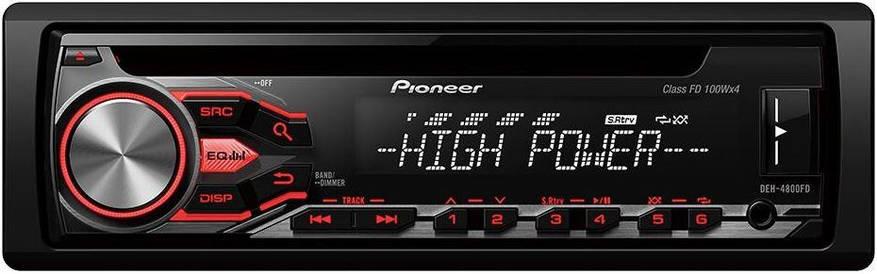 CD/MP3-автомагнитола Pioneer DEH-4800FD, фото 2