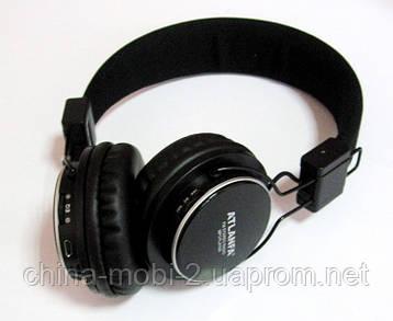 Беспроводные наушники ATLANFA AT-7607  с MP3 плеером и FM радио  new, фото 2