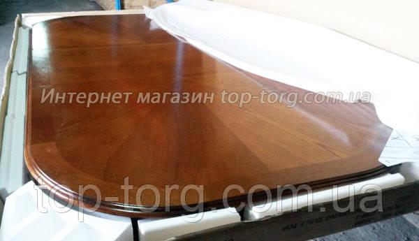 Фото столешницы стола 4296-3 дуб канти в коробке. Цвет, текстура