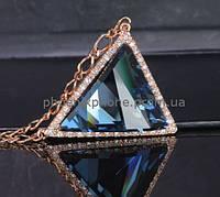 Божественный кулон с кристаллами Swarovski, покрытый слоями золота  (302961)
