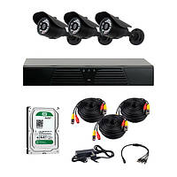 AHD комплекты видеонаблюдения CoVi Security HVK-2101H AHD KIT HDD 500 Гб