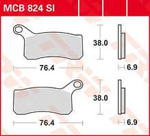 Тормозные колодки квадроциклов KTM TRW / Lucas MCB824SI