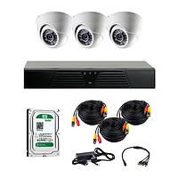 AHD комплекты видеонаблюдения CoVi Security HVK-2102H AHD KIT HDD 500 Гб