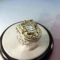 Перстень со щитом