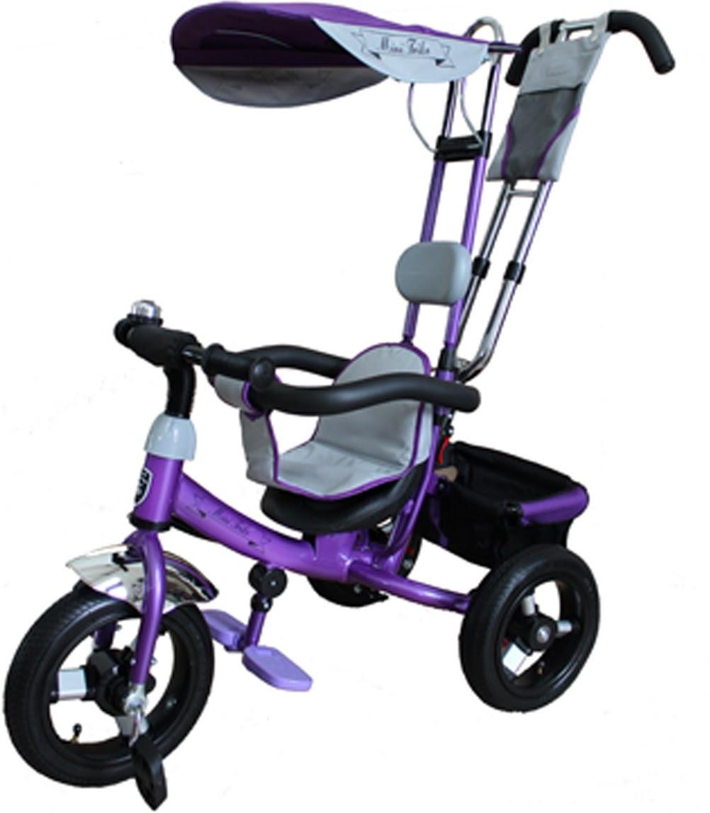 Детский велосипед трехколесный Mars Mini Trike LT950 air фиолетовый