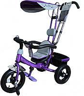 Детский велосипед трехколесный Mars Mini Trike LT950 air фиолетовый, фото 1
