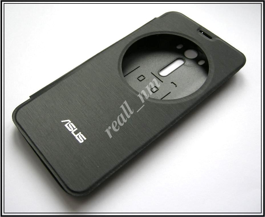 Черный чехол View Flip Cover для смартфона Asus ZenFone 2 Laser ZE550KL ZE551KL