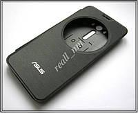Черный чехол View Flip Cover для смартфона Asus ZenFone 2 Laser ZE550KL ZE551KL, фото 1