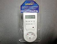 Розетка-таймер недельный электронный Lemanso LM677