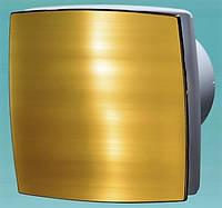Декоративный осевой вентилятор Вентс 100 ЛДА Голд, Украина