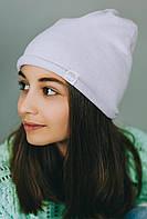 Весенняя шапка для девочки подростка/Весняна шапка для дівчинки підлітка. Модель Мелоу. Размеры 56.