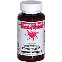 Wormwood Combination (Полынь) 100 капс средство от паразитов (лямблии, острицы, аскариды) Kroeger Herb Co USA