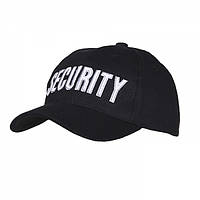 Кепка Baseball Cap Security Black