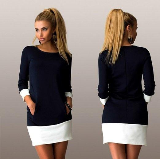 Женское Платье Chanel h  44 цвета Черный, электрик  продажа, цена в ... aca25912e6b