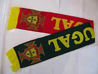 Шарф для болельщиков сборной Португалии