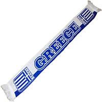 """Шарф для болельщиков сборной Греции """"GREECE"""""""