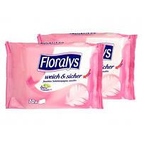 Туалетная бумага влажная Floralys Weich Sicher, 70 шт