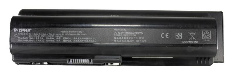 Аккумулятор PowerPlant для ноутбуков HP Pavilion DV4 (HSTNN-CB72) 10.8V 10400mAh