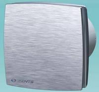 Декоративный осевой вентилятор Вентс 100 ЛДА К 12 алюм. мат.