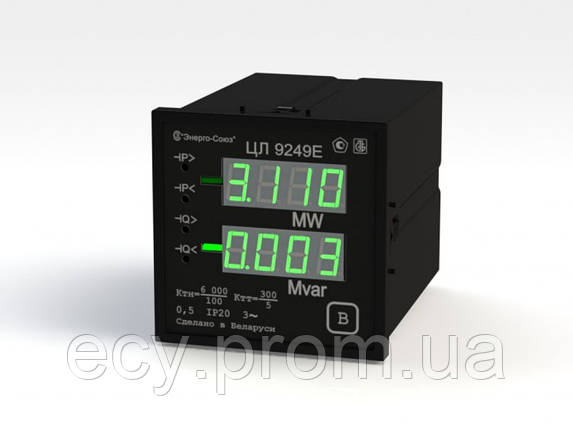 ЦЛ 9249 Преобразователи измерительные цифровые активной и реактивной мощности трехфазного тока, фото 2