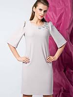 Женское кожаное Платье Арагон р. 42-50